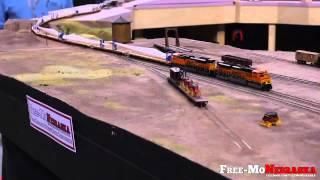 Cg N Scale Wind Turbine Blade Train Rolls Through Free-monebraska!