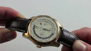 Pre-Owned Girard-Perregaux WW.TC World Time Chronograph Luxury Watch Review