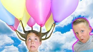 DIY Summer Haircut Hack | How To Balloon Hair and Confetti Balloons w/ Ava | Kids Cooking and Crafts