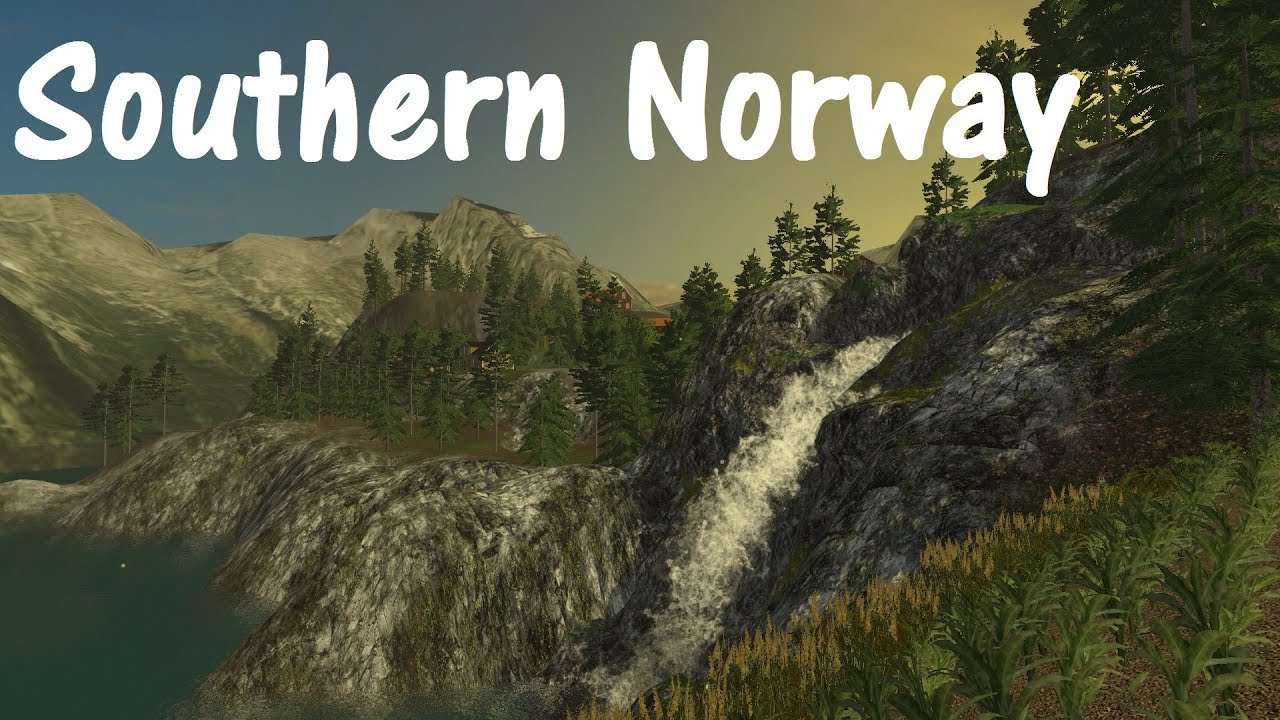 Southern Norway ModMap LSModcontest YouTube - Southern norway map ls15