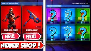 😍Neuer *STAR LORD* Skin (MARVEL) im SHOP! 🛒 Daily Fortnite Item Shop 30.4.2019