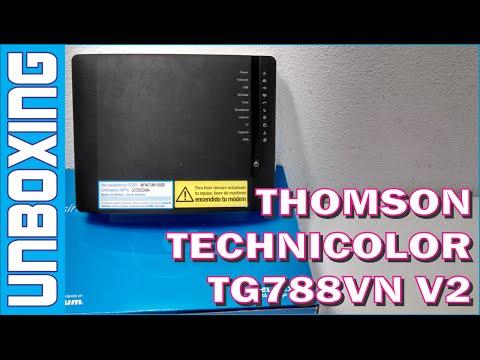 MODEM THOMSON TECHNICOLOR TG88vn v2 | TELMEX