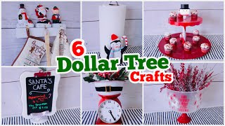 6 Dollar Tree Christmas Kitchen Decor DIY's