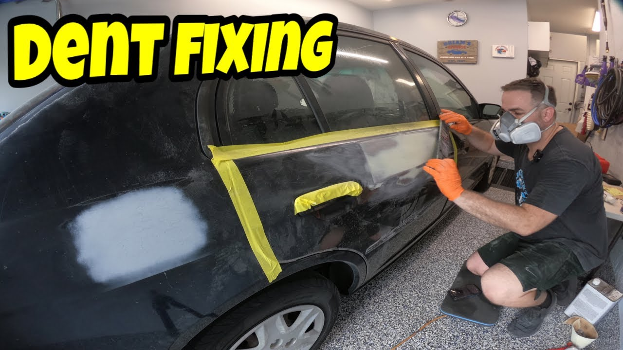 Fixing Car Dents in your Garage!