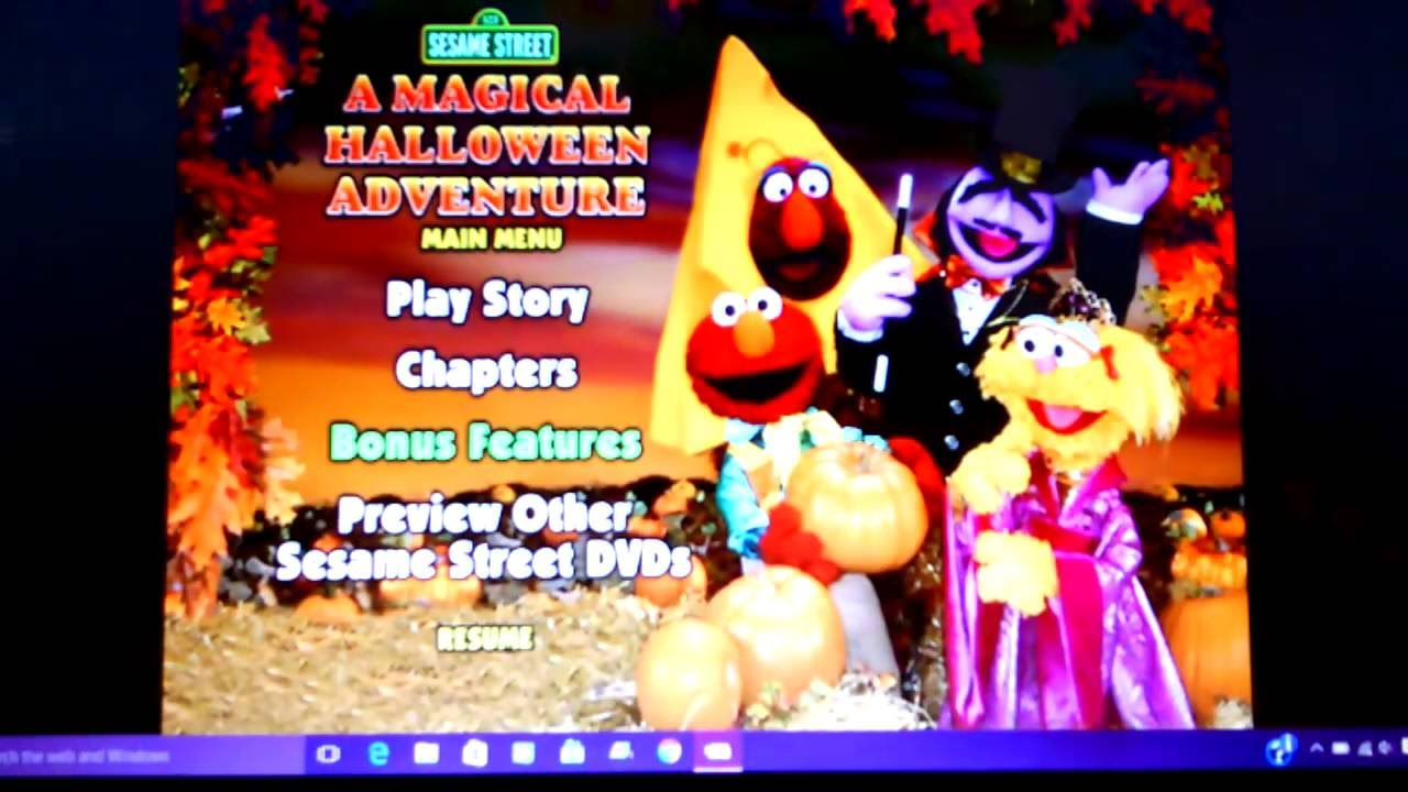 Halloween Adventure.Sesame Street A Magical Halloween Adventure