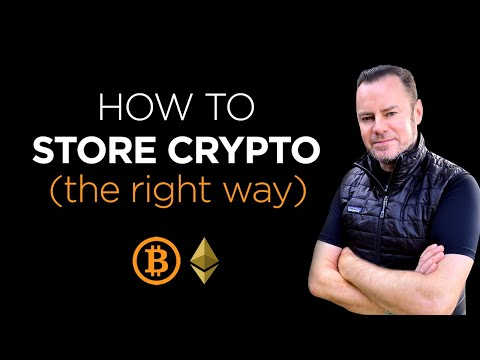 Best Ways to Store Crypto in 2021 with detailed Risk Analysis of every method.