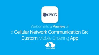 Cellular Network Communication Group - Mobile App Preview - CEL358W