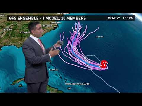 Weather Briefing: Tracking Hurricane Jose and tropics outlook, 9/13/17
