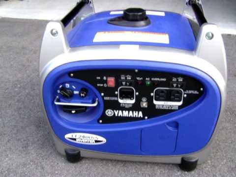 Yamaha Ef2400is Generator Youtube