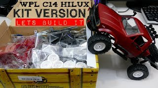WPL C14 TOYOTA HILUX - Kit Version BUILD VIDEO