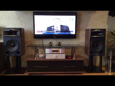 JBL 4429 - Musical Fidelity M6i - Marantz SA-15S2 - IPhone 5S