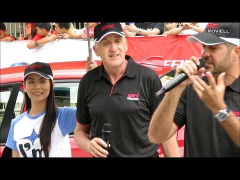 Russ Swift - Car Stunt Show -  Manila International Auto Show 2017
