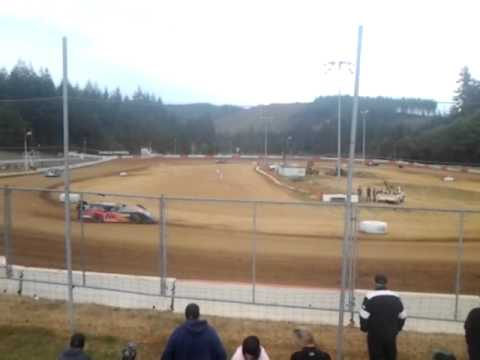 6 20 15 late model heat coos bay speedway