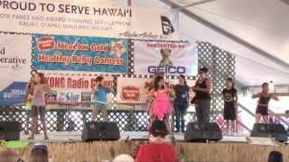 HMSA provides family fun with a Hula Hoop Contest at the Kauai County Fair