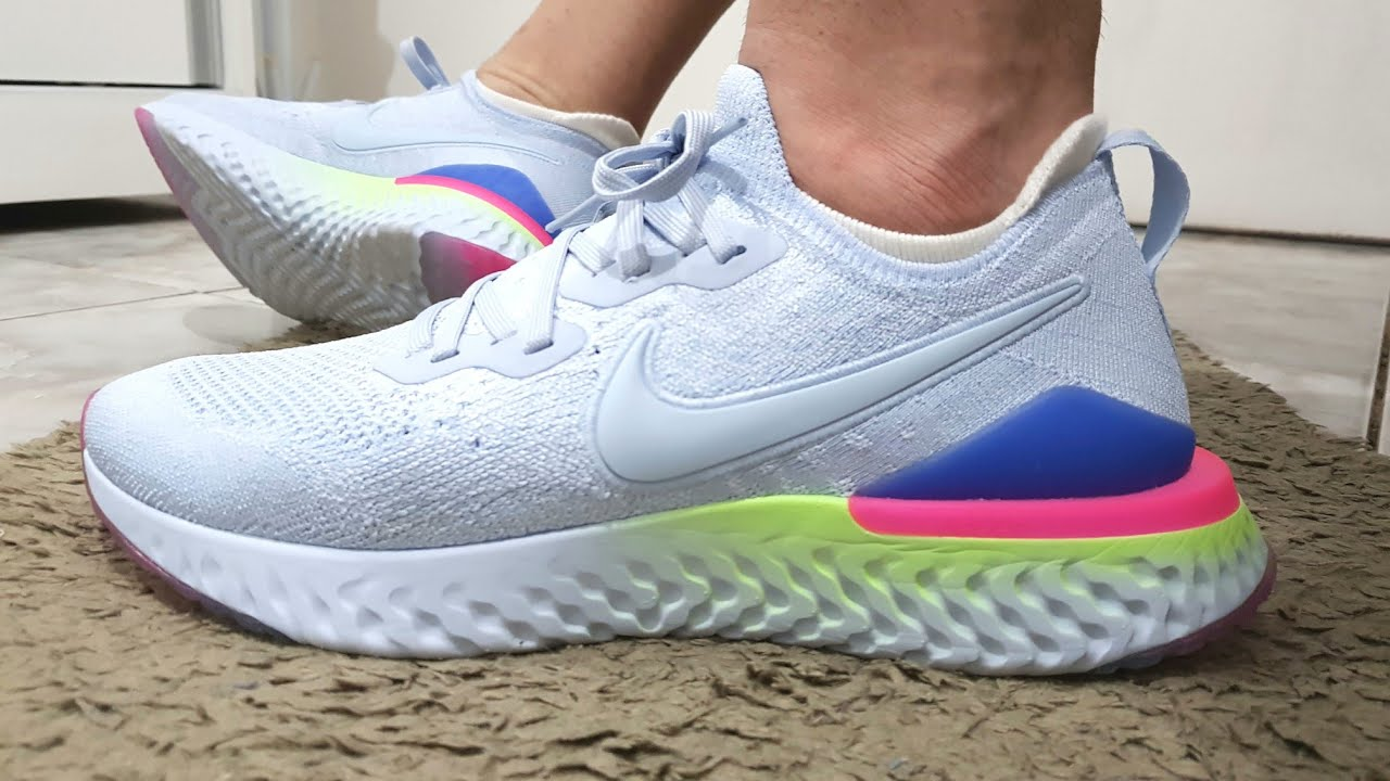 Review Do Tênis Nike Epic React Flyknit 2