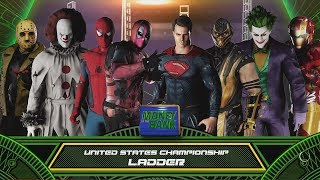 WWE 2K18 8-Man SuperHero Ladder Match | Ft Spiderman,Joker,Deadpool,........  OMG!!