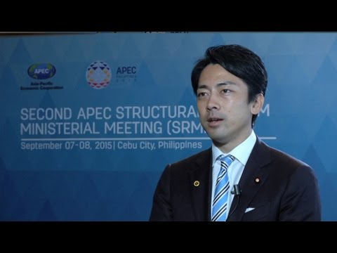 Interview with Mr Shinjiro Koizumi, Japan's Parliamentary Vice-Minister of Cabinet Office