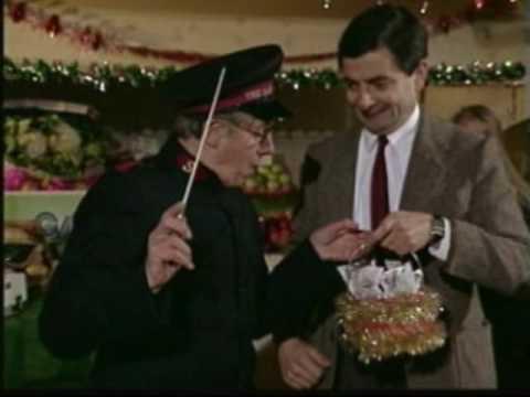 Mr. Bean Christmas On the Street