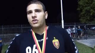 Dejan Milosavljev posle trijumfa Vardara u Super Kupu Makedonije 2018