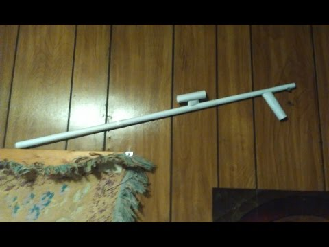 How To Make A Paper Sniper Rifle (That Shoots!!!)