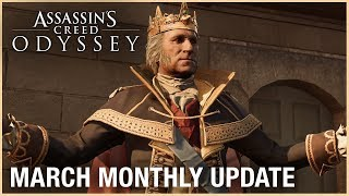 Assassin's Creed Odyssey: March Monthly Update | Ubisoft [NA]