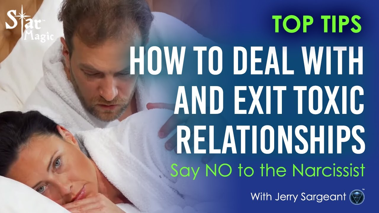 Say NO - How to Deal With and Exit Toxic Relationships (JERRY SARGEANT)
