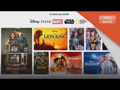 Astro dilantik sebagai pengedar rasmi Disney+ Hotstar