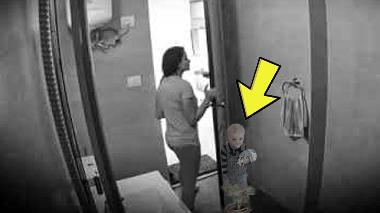 Kız Kaybolduktan 7 Ay Sonra Annesi Banyoda Kamera Buldu, Kaydı İzleyince Gözlerine İnanamadı.