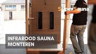 Infrarood Sauna montage / installatie - SuperSauna.nl