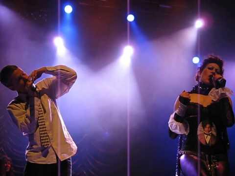 "Amanda Palmer & John Cameron Mitchell - ""Midnight Radio"" - #PurpleReignNYE - NYC -12/31/2012"