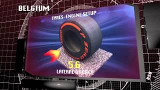F1 2014 - Pirelli - Belgian Grand Prix 3D preview (Spa-Francorchamps)
