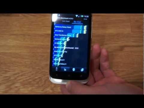 HTC Desire X Benchmarks: Antutu & Quadrant (english)