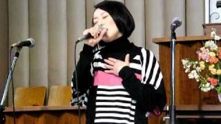 10.2月 池ゴスにゲスト出演した松本優香の賛美。