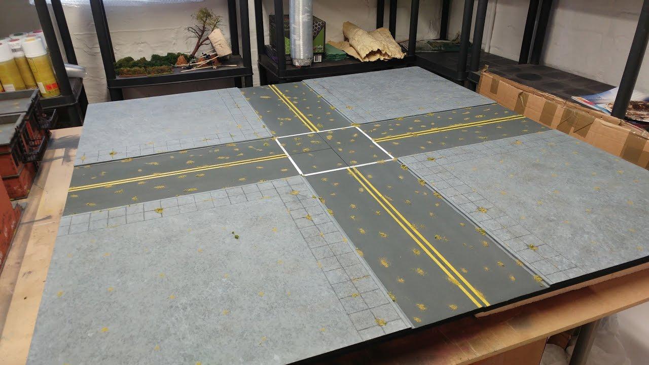 Making Urban Wargaming Boards
