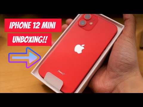 iPhone 12 Mini Product Red (Unboxing & First impressions)