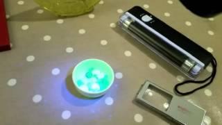 Uranium Glass Hunting With UV Black Lights