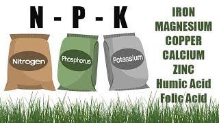 Lawn Fertilizer NPK Numbers