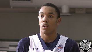 David Syfax Highlights at Under Armour Association Session 1 - Detroit Pershing 2016 Forward