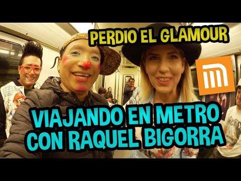 VIAJANDO EN METRO CON RAQUEL BIGORRA thumbnail