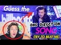 GUESS THE ONE DIRECTION SONG (BIG FAN) *TRY TO BEAT ME*