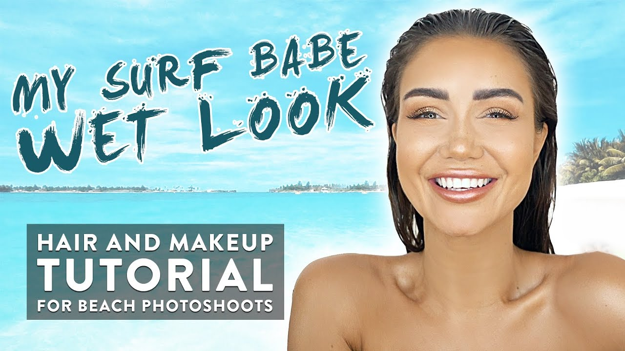 Grwm hair and makeup tutorial with fake freckles for wet look beach grwm hair and makeup tutorial with fake freckles for wet look beach photoshoot baditri Images