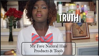 My Favourite Natural Hair Products / Tools 2017