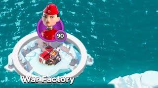 Christian finally attacks War Factory in Boom Beach!