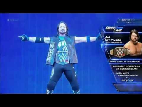 WWETNA AJ Styles Entrance PhenomenalGet Ready to Fly Themes