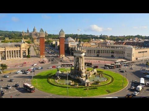 Plaça d'Espanya, Barcelona - Catalonia/Spain