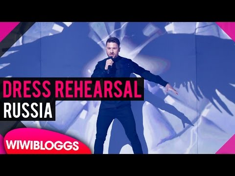 """Russia: Sergey Lazarev """"You Are The Only One"""" Semi-final 1 Dress Rehearsal @ Eurovision 2016"""