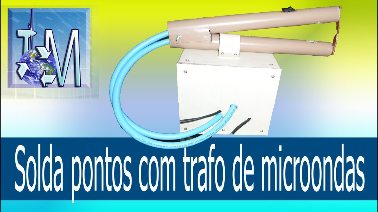 Download Solda pontos com trafo de microondas