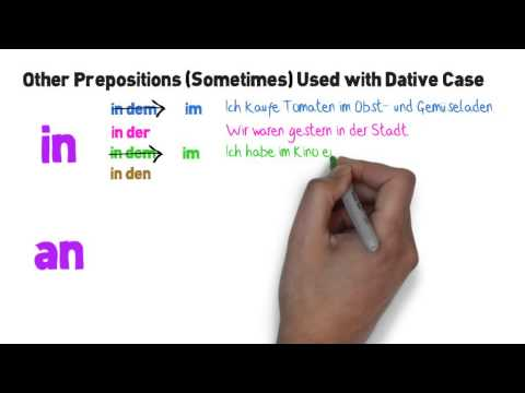 K9 - Dative Prepositions
