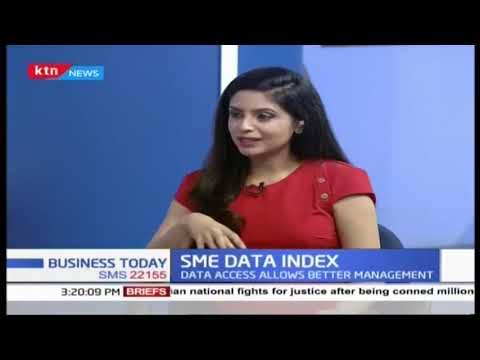 SME DATA INDEX: 34.8% SMEs use data to make decisions as data access allows better management