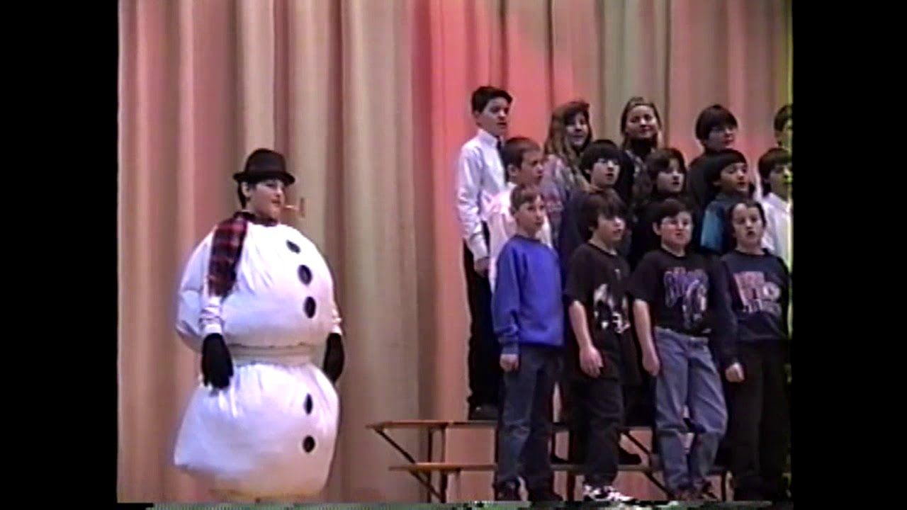 MES Christmas Program  12-12-95